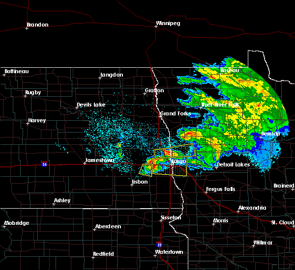 Radar Image for Severe Thunderstorms near Glyndon, MN at 6/9/2017 11:18 PM CDT