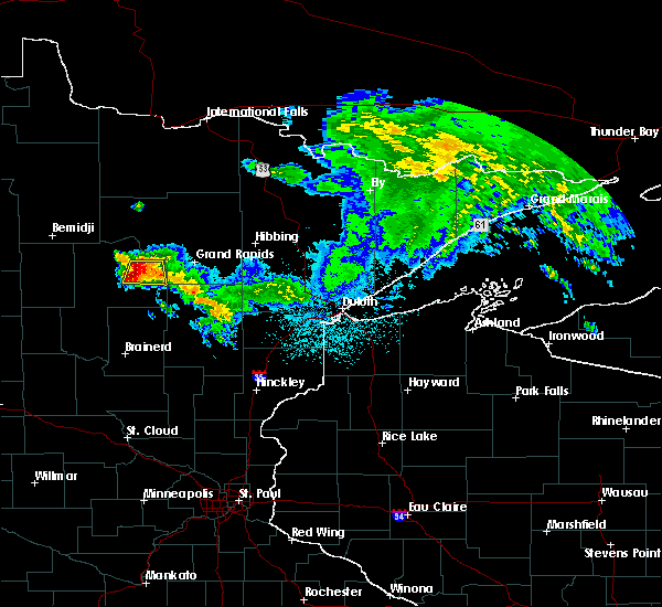 Radar Image for Severe Thunderstorms near Boy River, MN at 6/10/2017 3:01 AM CDT