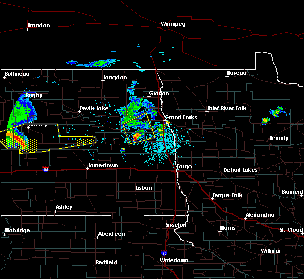 Radar Image for Severe Thunderstorms near Grand Forks AFB, ND at 6/10/2017 4:34 AM CDT