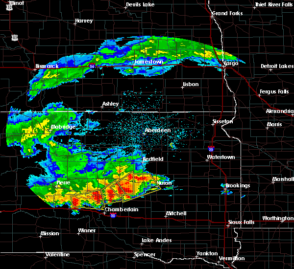 Radar Image for Severe Thunderstorms near Hitchcock, SD at 6/11/2017 3:23 AM CDT