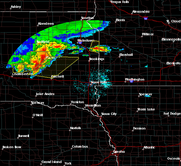 Radar Image for Severe Thunderstorms near Gary, SD at 6/11/2017 4:14 AM CDT