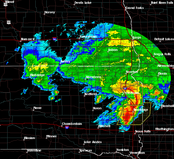 Radar Image for Severe Thunderstorms near Gary, SD at 6/11/2017 5:55 AM CDT