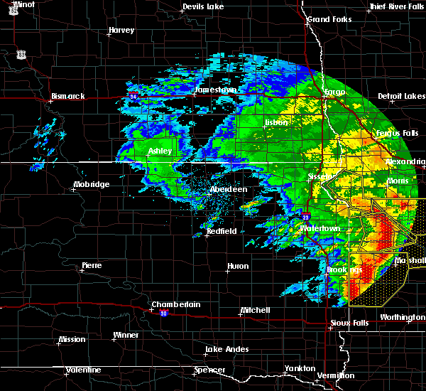 Radar Image for Severe Thunderstorms near Wheaton, MN at 6/11/2017 6:37 AM CDT