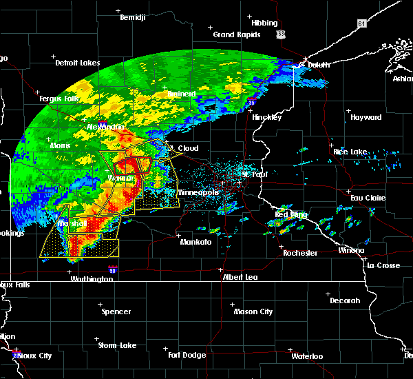 Radar Image for Severe Thunderstorms near Evan, MN at 6/11/2017 7:47 AM CDT
