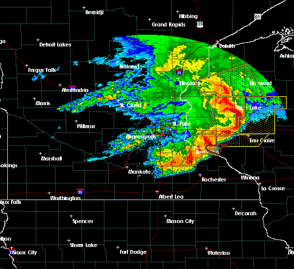 Radar Image for Severe Thunderstorms near Barron, WI at 6/11/2017 10:12 AM CDT