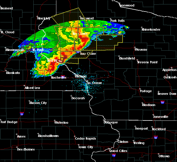 Radar Image for Severe Thunderstorms near Sheldon, WI at 6/11/2017 10:31 AM CDT