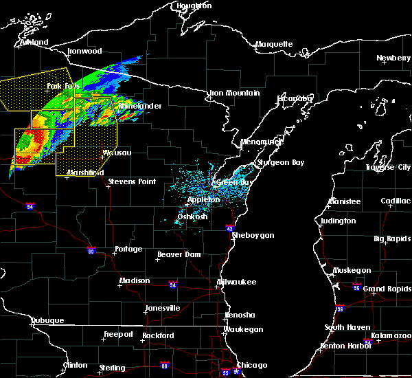 Radar Image for Severe Thunderstorms near Unity, WI at 6/11/2017 11:13 AM CDT