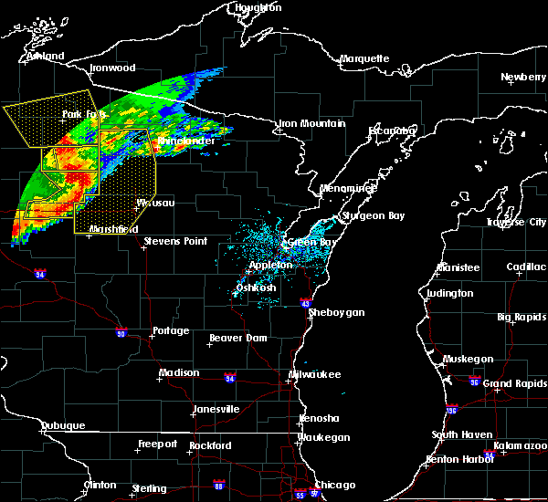 Radar Image for Severe Thunderstorms near Mosinee, WI at 6/11/2017 11:29 AM CDT