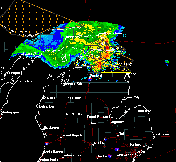Interactive Hail Maps Hail Map For Rogers City Mi