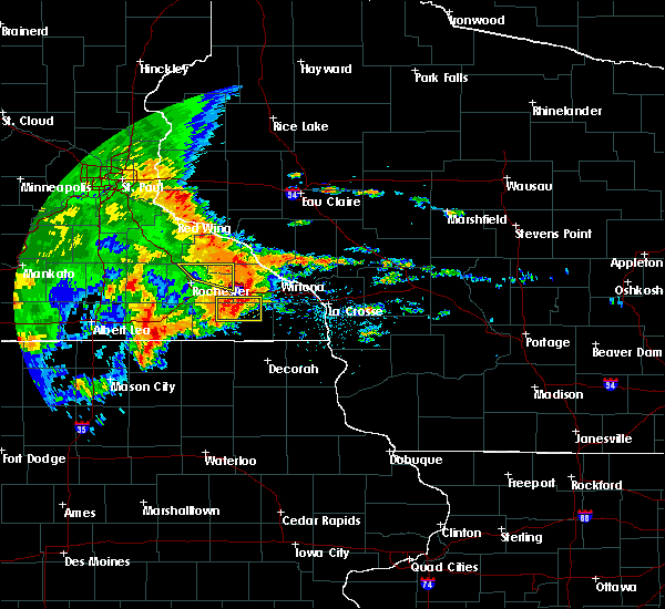Radar Image for Severe Thunderstorms near Fountain, MN at 6/12/2017 2:57 PM CDT
