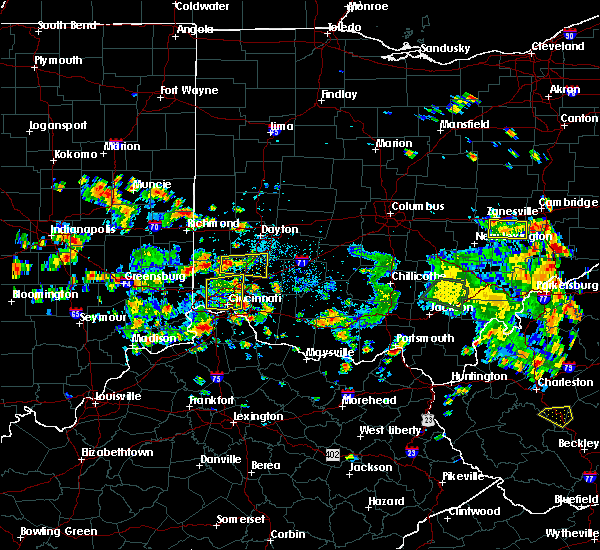 Radar Image for Severe Thunderstorms near Greenhills, OH at 6/13/2017 12:25 PM EDT