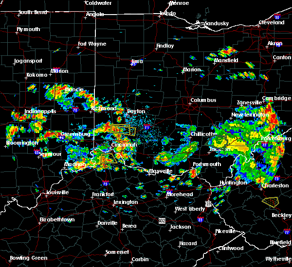 Radar Image for Severe Thunderstorms near Lebanon, OH at 6/13/2017 12:47 PM EDT
