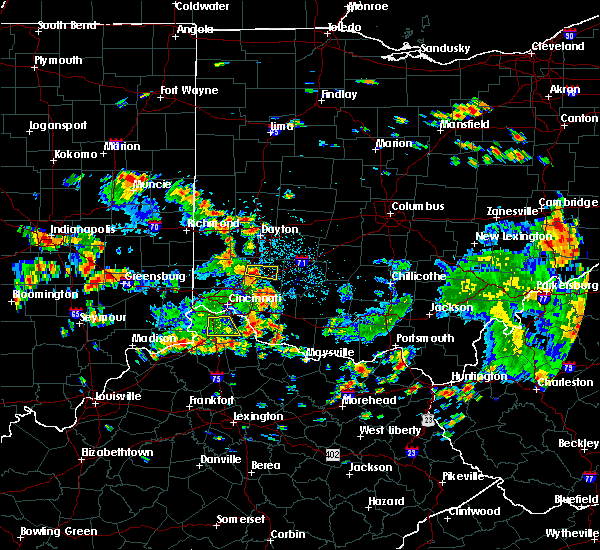 Radar Image for Severe Thunderstorms near Lebanon, OH at 6/13/2017 1:02 PM EDT