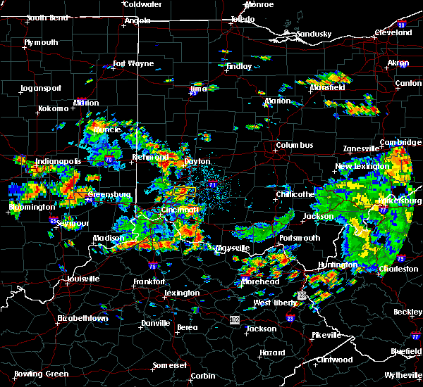 Radar Image for Severe Thunderstorms near Monroe, OH at 6/13/2017 1:13 PM EDT