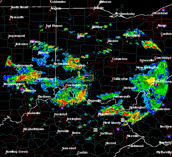 Radar Image for Severe Thunderstorms near Sabina, OH at 6/13/2017 1:47 PM EDT