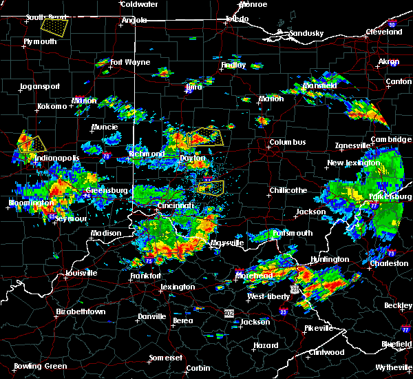 Radar Image for Severe Thunderstorms near St. Paris, OH at 6/13/2017 2:05 PM EDT