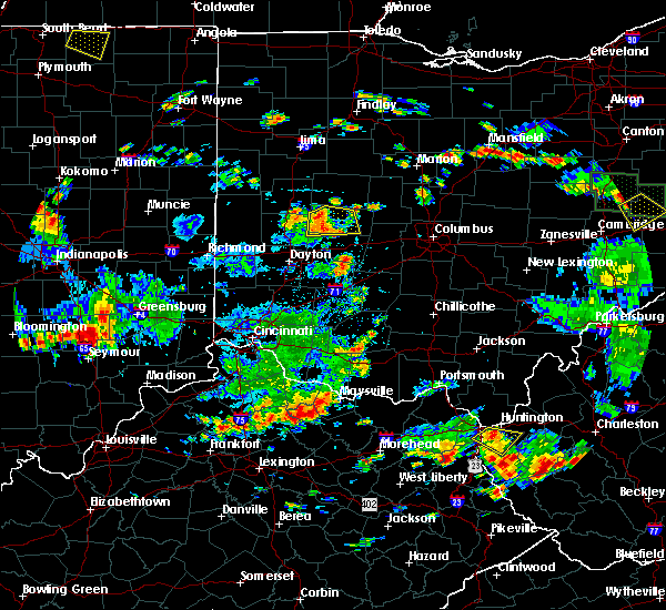 Radar Image for Severe Thunderstorms near St. Paris, OH at 6/13/2017 2:20 PM EDT