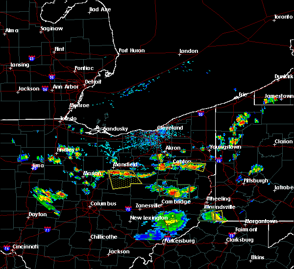 Radar Image for Severe Thunderstorms near Lucas, OH at 6/13/2017 2:39 PM EDT