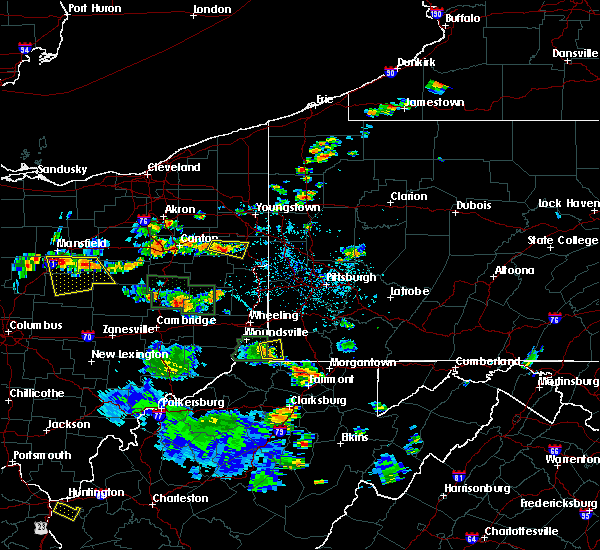 Radar Image for Severe Thunderstorms near New Freeport, PA at 6/13/2017 2:40 PM EDT