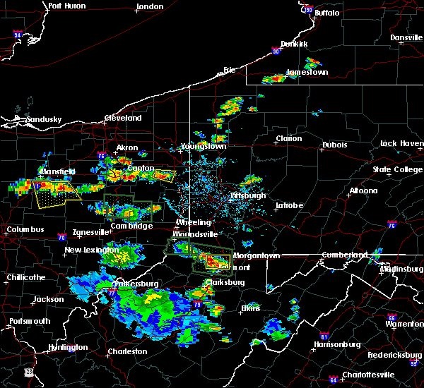 Radar Image for Severe Thunderstorms near Lisbon, OH at 6/13/2017 2:52 PM EDT