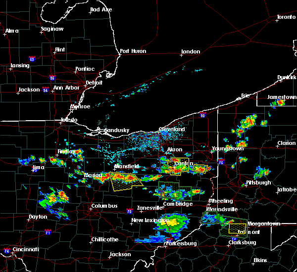 Radar Image for Severe Thunderstorms near Loudonville, OH at 6/13/2017 2:58 PM EDT