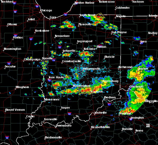 Radar Image for Severe Thunderstorms near Seymour, IN at 6/13/2017 3:04 PM EDT