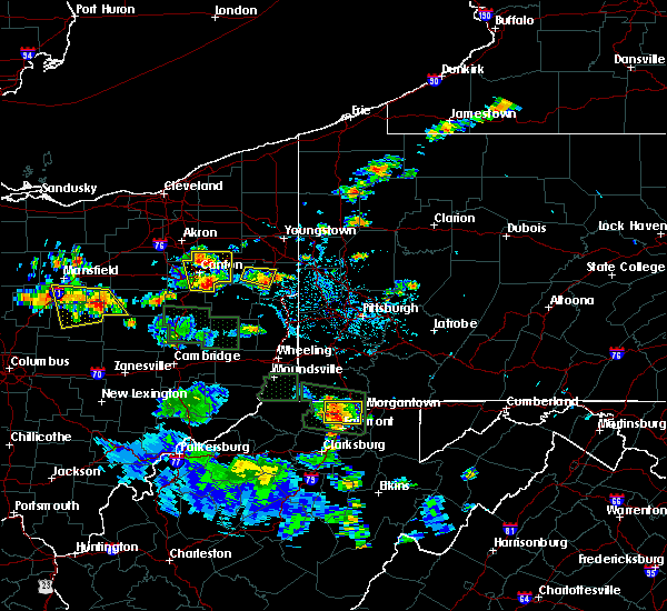 Radar Image for Severe Thunderstorms near Dellroy, OH at 6/13/2017 3:08 PM EDT