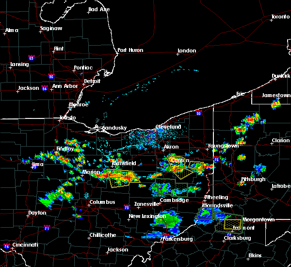 Radar Image for Severe Thunderstorms near Greentown, OH at 6/13/2017 3:17 PM EDT