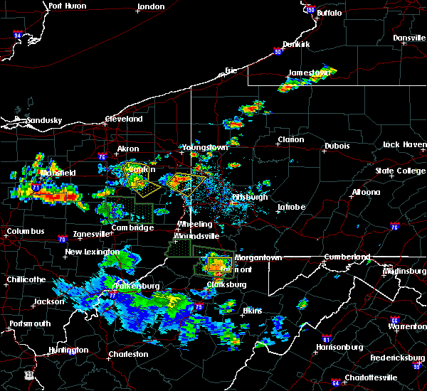 Radar Image for Severe Thunderstorms near Lisbon, OH at 6/13/2017 3:21 PM EDT