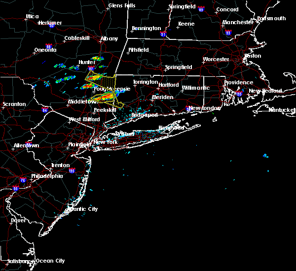 Radar Image for Severe Thunderstorms near Wappingers Falls, NY at 6/13/2017 3:30 PM EDT