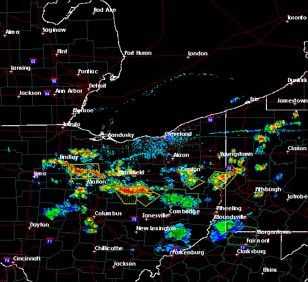 Radar Image for Severe Thunderstorms near Nellie, OH at 6/13/2017 3:37 PM EDT
