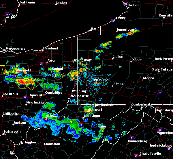 Radar Image for Severe Thunderstorms near Minerva, OH at 6/13/2017 3:40 PM EDT