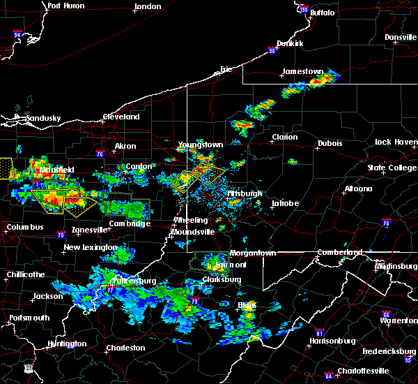Radar Image for Severe Thunderstorms near Calcutta, OH at 6/13/2017 3:50 PM EDT