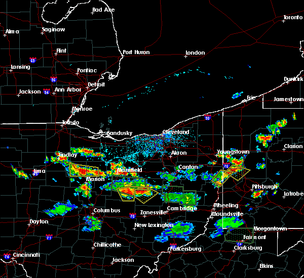 Radar Image for Severe Thunderstorms near Oceola, OH at 6/13/2017 3:55 PM EDT