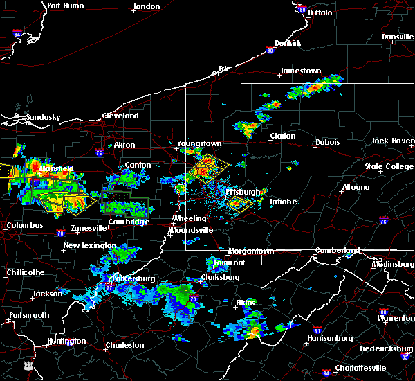 Radar Image for Severe Thunderstorms near Evans City, PA at 6/13/2017 4:09 PM EDT
