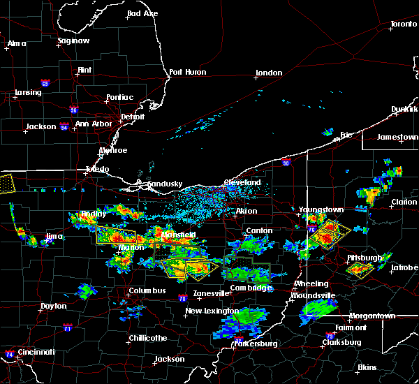 Radar Image for Severe Thunderstorms near Nellie, OH at 6/13/2017 4:12 PM EDT