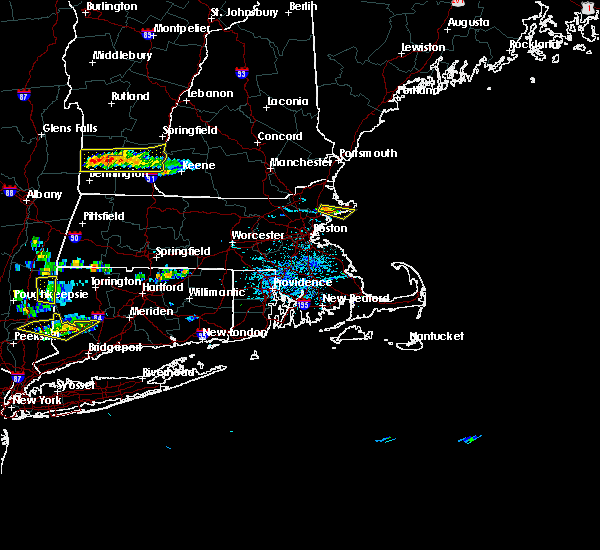 Radar Image for Severe Thunderstorms near Beverly, MA at 6/13/2017 4:29 PM EDT
