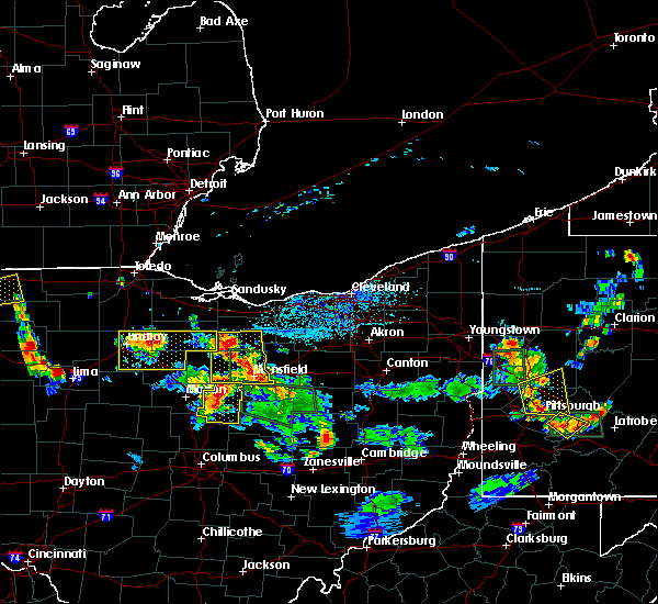 Radar Image for Severe Thunderstorms near Tiro, OH at 6/13/2017 4:39 PM EDT