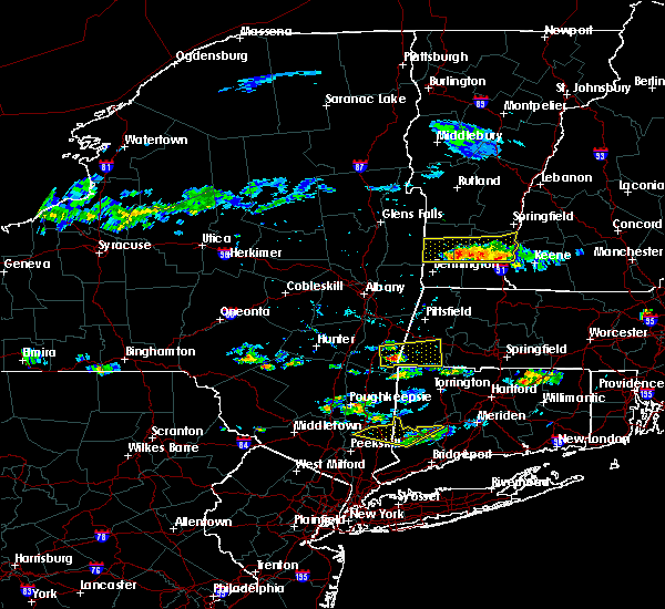 Radar Image for Severe Thunderstorms near Canaan, CT at 6/13/2017 4:43 PM EDT