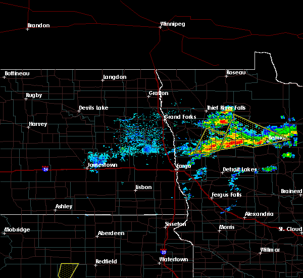 Radar Image for Severe Thunderstorms near Twin Valley, MN at 6/13/2017 3:46 PM CDT