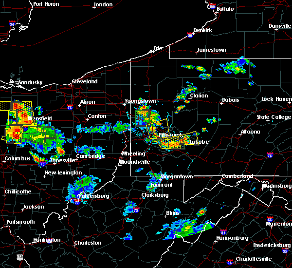 Radar Image for Severe Thunderstorms near Clairton, PA at 6/13/2017 4:50 PM EDT