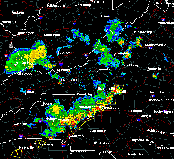 Radar Image for Severe Thunderstorms near Spencer, NC at 6/13/2017 4:59 PM EDT