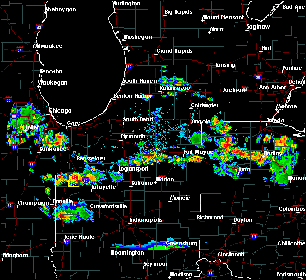 Radar Image for Severe Thunderstorms near Sidney, IN at 6/13/2017 5:38 PM EDT