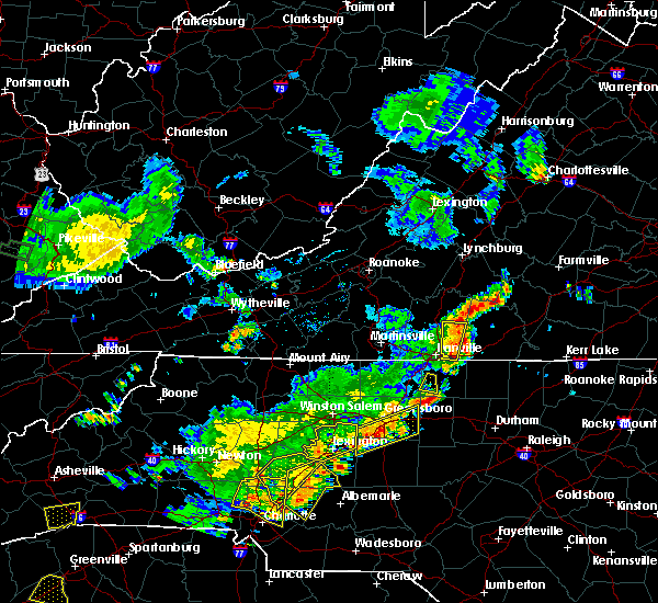 Radar Image for Severe Thunderstorms near Spencer, NC at 6/13/2017 5:41 PM EDT