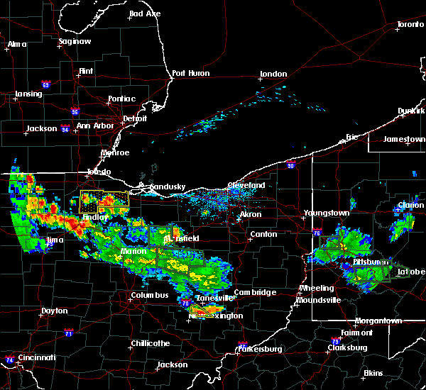 Radar Image for Severe Thunderstorms near Bradner, OH at 6/13/2017 5:52 PM EDT