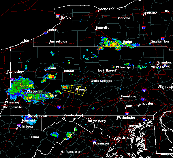 Radar Image for Severe Thunderstorms near Tyrone, PA at 6/13/2017 5:53 PM EDT