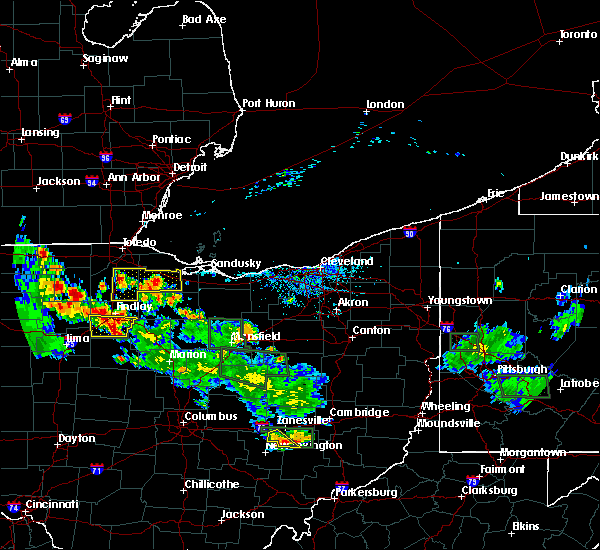 Radar Image for Severe Thunderstorms near Bluffton, OH at 6/13/2017 5:56 PM EDT