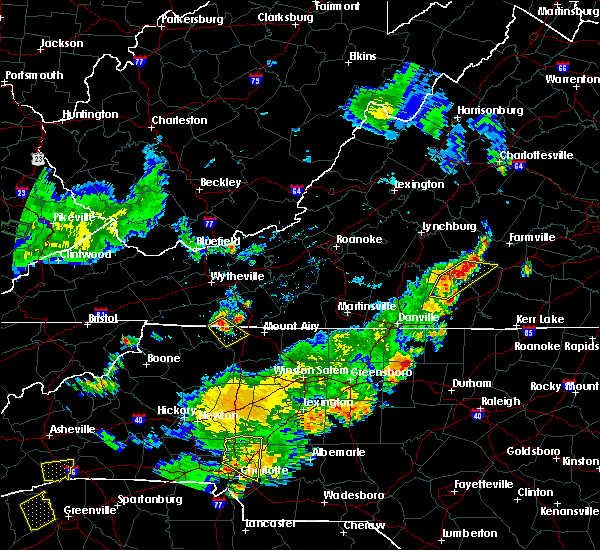 Radar Image for Severe Thunderstorms near Lowgap, NC at 6/13/2017 6:13 PM EDT