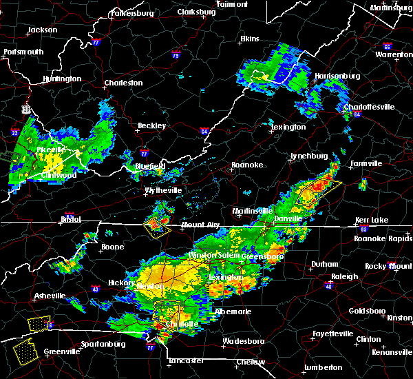 Radar Image for Severe Thunderstorms near Lowgap, NC at 6/13/2017 6:14 PM EDT