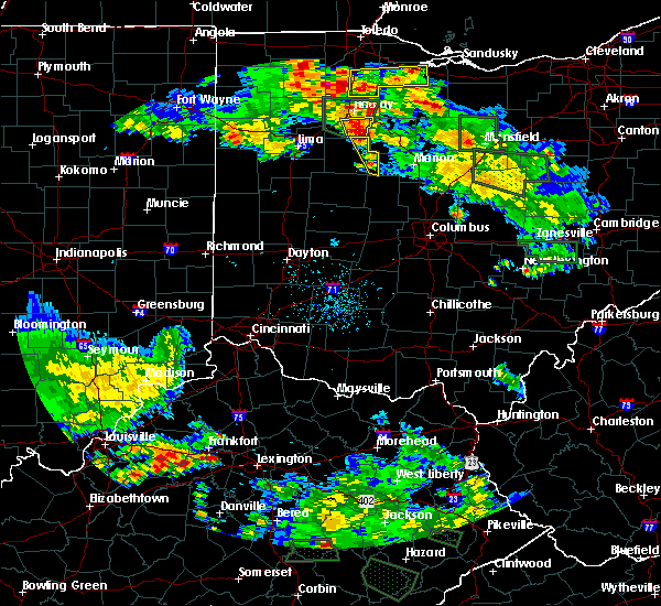 Radar Image for Severe Thunderstorms near Patterson, OH at 6/13/2017 6:17 PM EDT